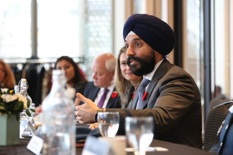 Virtual Town Hall with Minister Navdeep Bains