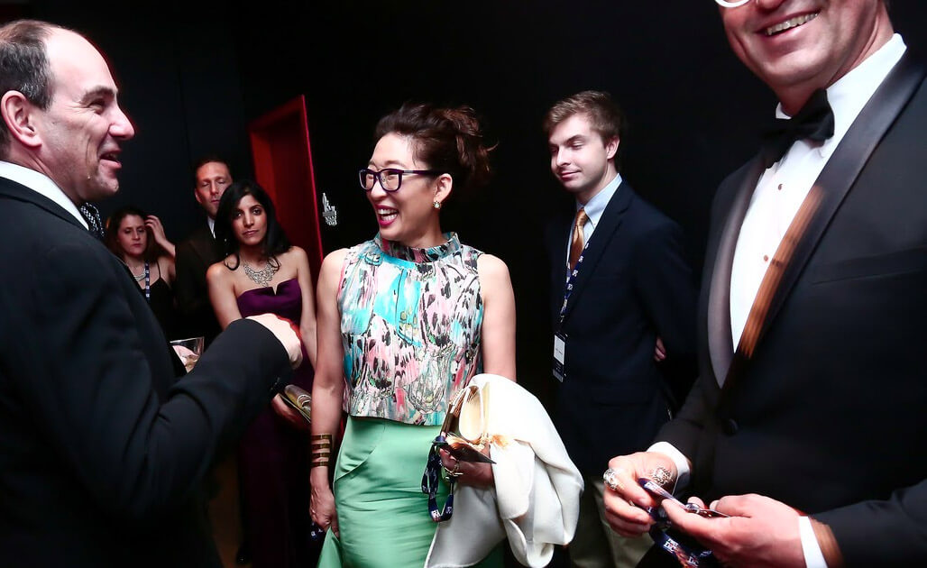 Sandra Oh at the CABC State Dinner After Party in Washington, DC