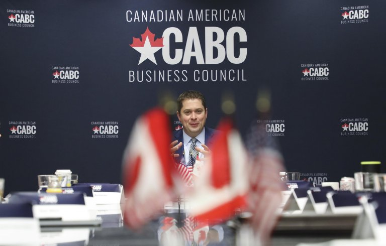 Roundtable with Conservative Leader Andrew Scheer in Washington