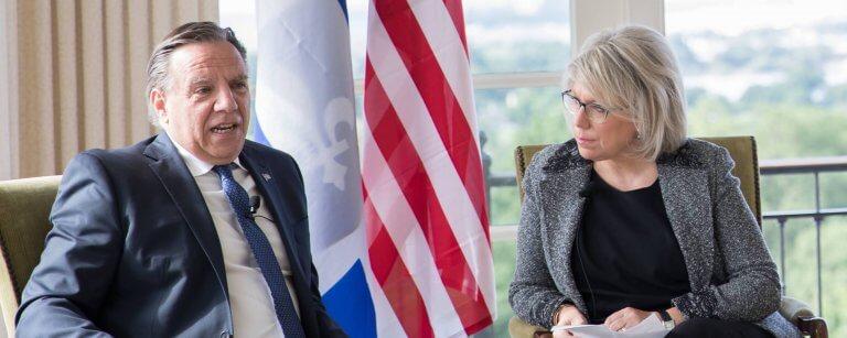 Breakfast Dialogue with Premier François Legault in Washington