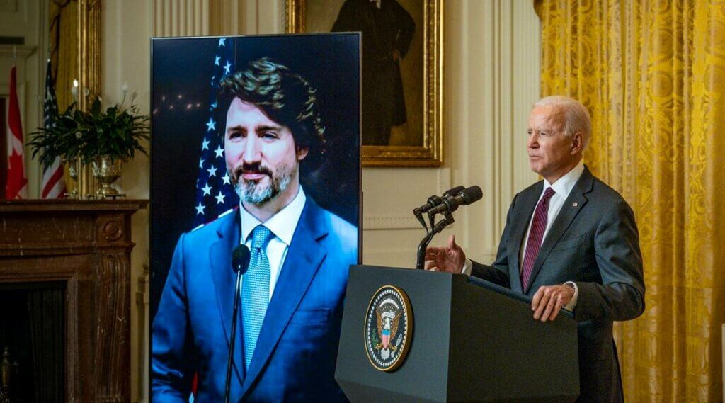 NAFTA's near death paved the way for Biden's first bilateral meeting